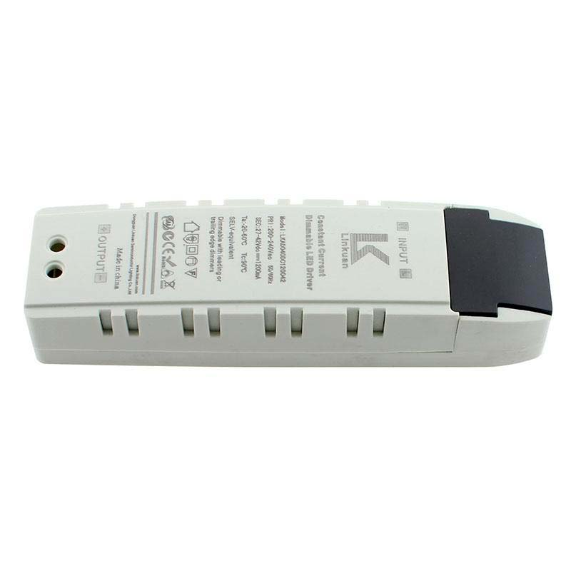 LED Driver TUV DC27-42V/50W/1200mA, TRIAC Regulable